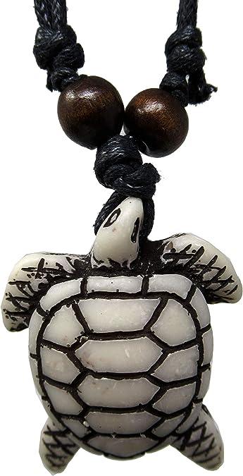 Unisex Men/'s Women/'s Hawaii Beach Surfing Style Tribal Turtle Pendant Necklace