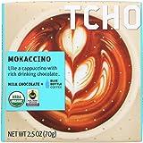 Tcho Chocolate Milk Chocolate Bar - Mokaccino - Case of 12-2.5 oz.