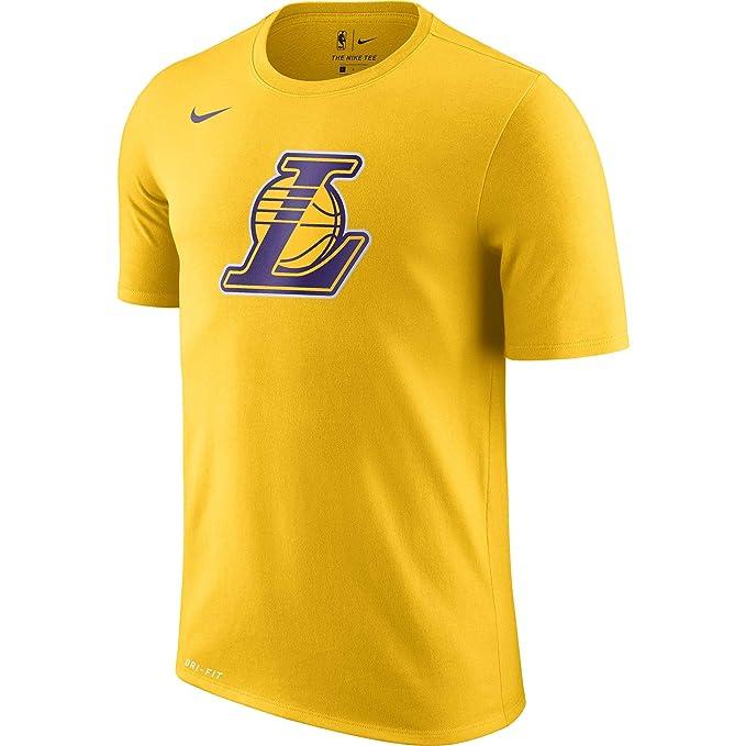 Nike NBA Los Angeles Lakers Lebron James Lonzo Ball Ingram Kuzma Rondo 2017 2018 Logo tee, Camiseta de Hombre: Amazon.es: Ropa y accesorios