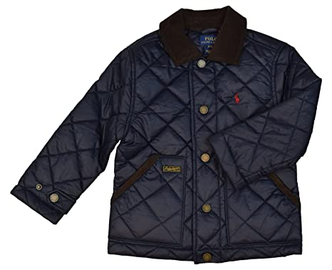 2b6fba53f Amazon.com: Polo Ralph Lauren Little Boys' Quilted Barn Jacket: Clothing