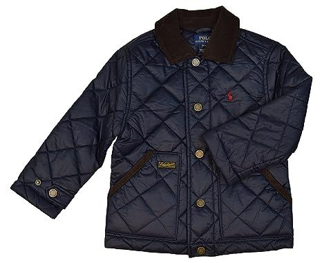Amazon Polo Ralph Lauren Little Boys Quilted Barn Jacket 6