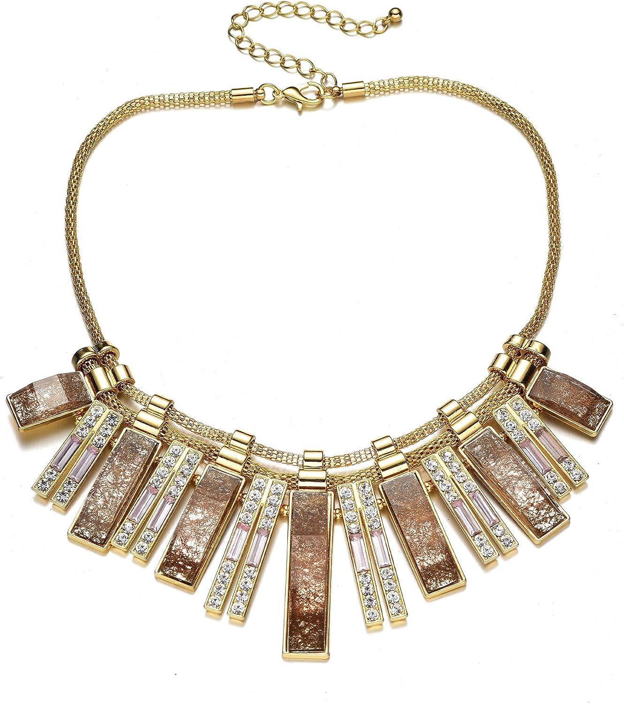 bib necklace pendant silver bib long industrial necklace silver necklace Brutalist jewelry necklace for women statement necklace
