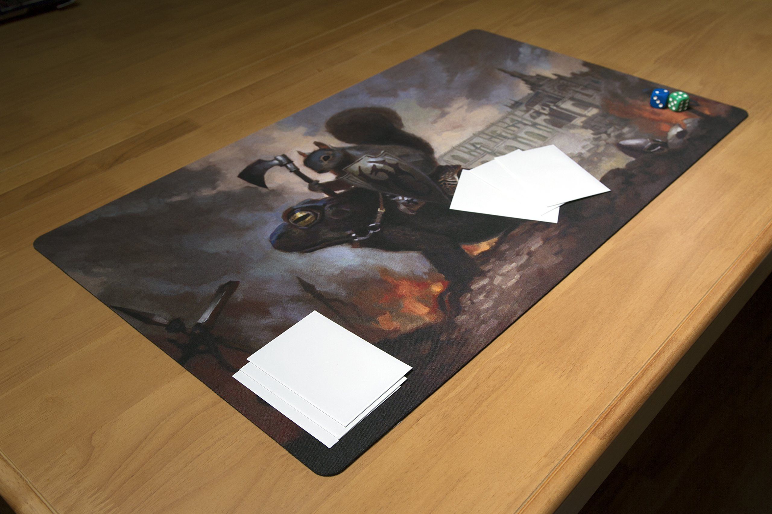 Inked Playmats Toad Rider Playmat Inked Gaming Perfect for Card Gaming TCG Game Mat by Inked Playmats (Image #3)