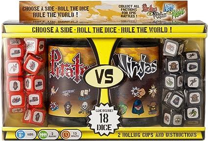 Pirates vs. Ninjas Dice Game