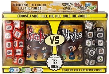 Pirates Vs Ninjas - Juego de Dados, 2 Jugadores (Wiggles ...
