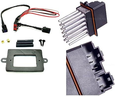 81BSAxCrhlL._SX466_ amazon com apdty 5179985aa & 68052436aa blower motor resistor power
