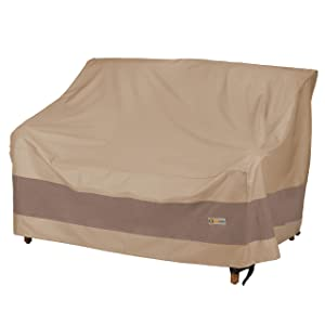 Duck Covers Elegant Patio Loveseat Cover, 54-Inch
