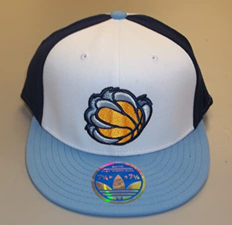 34068312b5e91 Amazon.com : Memphis Grizzlies Flex Fitted hat By Adidas Size L/XL ...