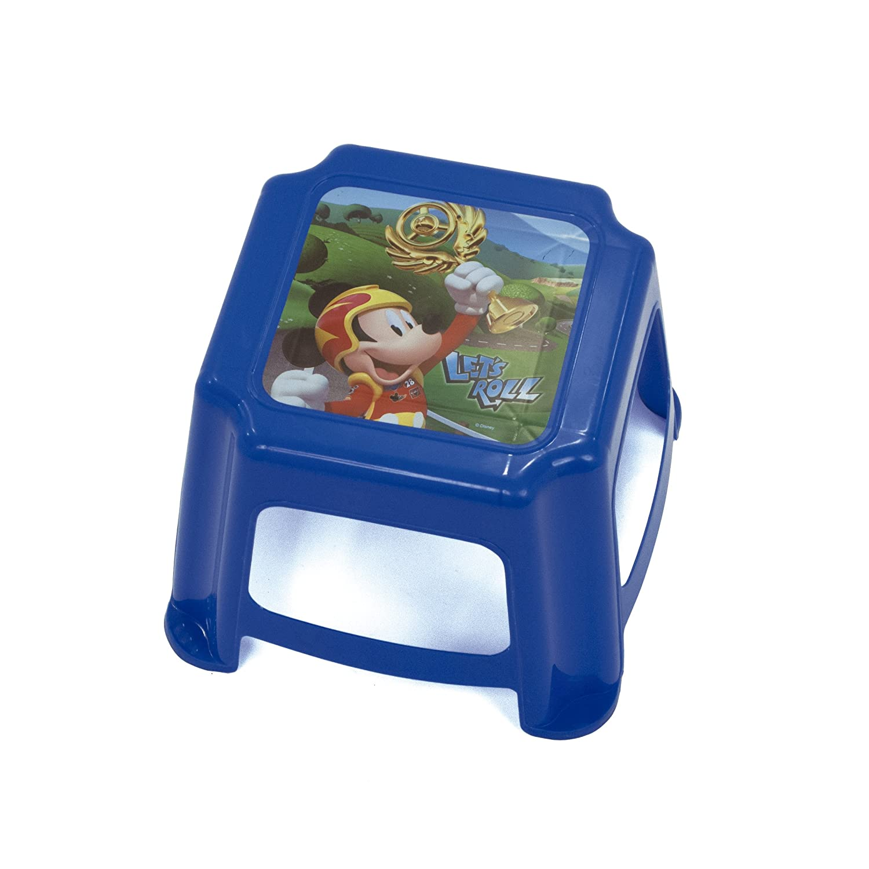 Arditex Sgabello per Bambini Antiscivolo sotto Licenza Topolino Dimensioni: 27 x 27 x 21 cm, Plastica, 27 x 21 x 27 cm 27x 21x 27cm WD11904