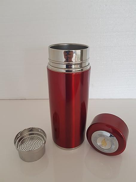 Botella de filtro de agua mineral alcalina – purificador de agua – Filtro botella de agua – ionizador – doble filtración rosso: Amazon.es: Hogar