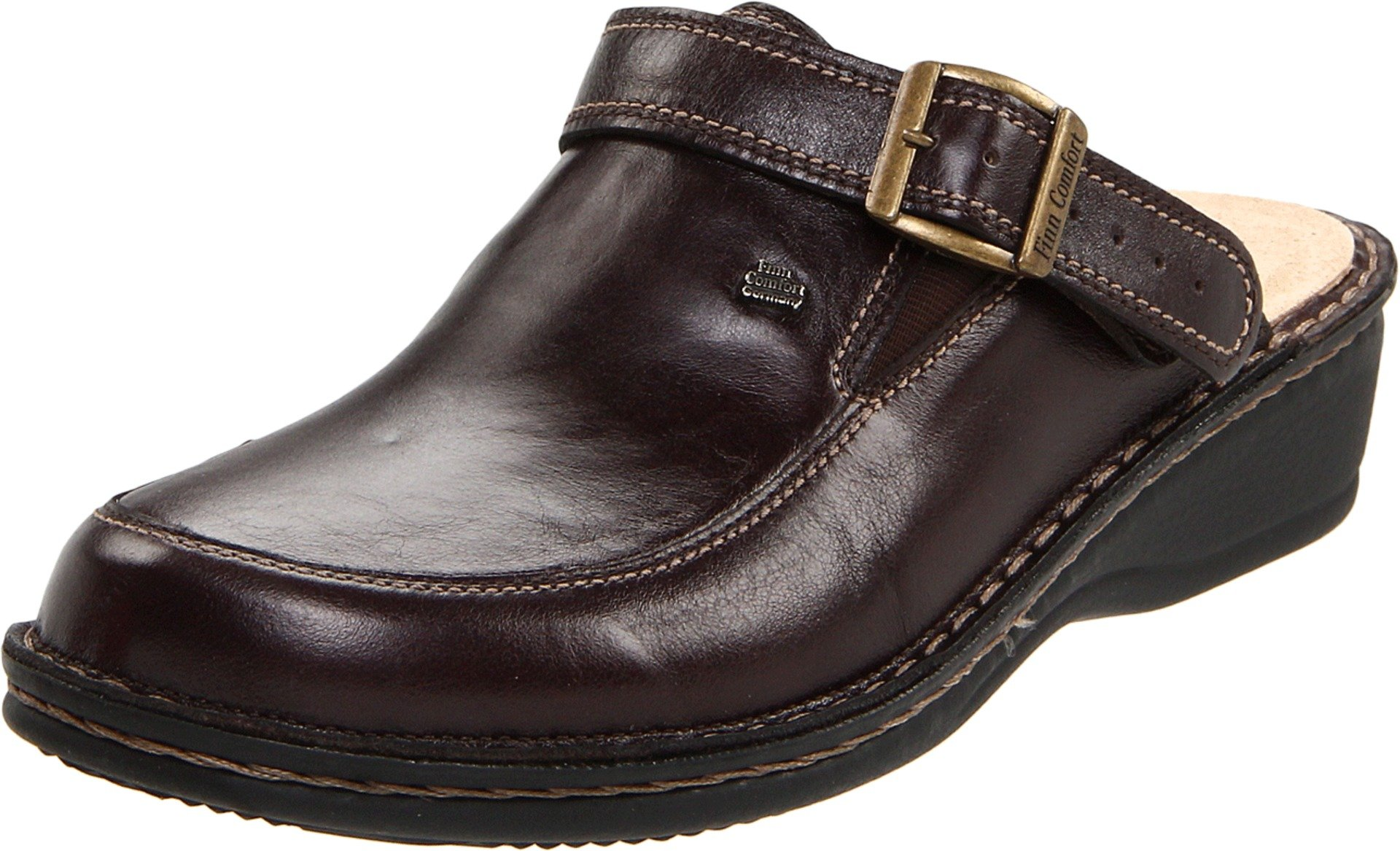 Finn Comfort Women's Kasos - 2539,Kaffee,37 (Women's 6-6.5 US)