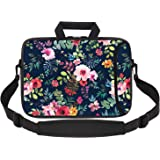 iCasso Laptop Sleeve 11.6-12.1 Inch Stylish Soft Neoprene Sleeve Case Cover Handbag for MacBook Air 11,MacBook Retina 12 Inch