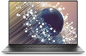 New Dell XPS 17 9700 17 inch UHD Plus Laptop (Silver) Intel i9-10885H 10th Gen, 32GB DDR4 RAM, 1TB SSD, NVIDIA GeForce RTX 2060 6GB GDDR6, Windows 10 Home, 17-30.99 inches