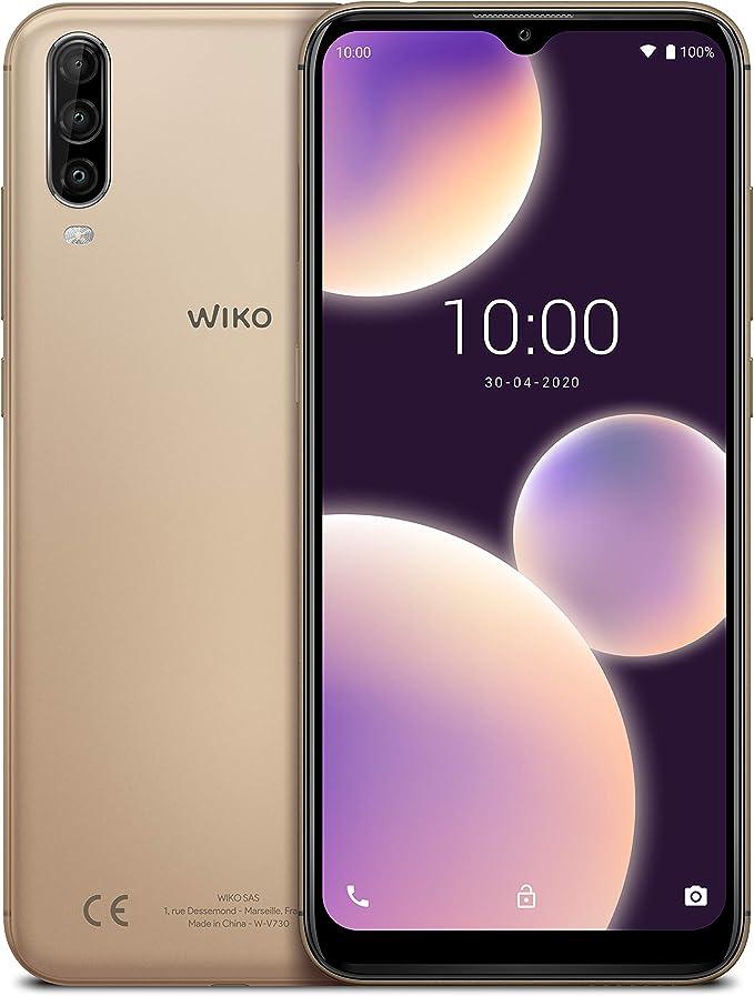 """WIKO View4 Lite - Smartphone de 6,52"""" HD+ IPS (Triple Cámara ..."""