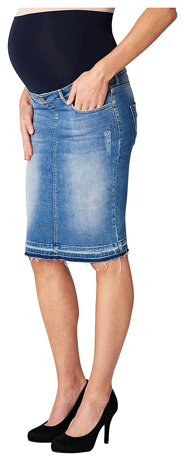 Noppies Damen Umstandsrock Jeans Otb Skirt Joy 70103