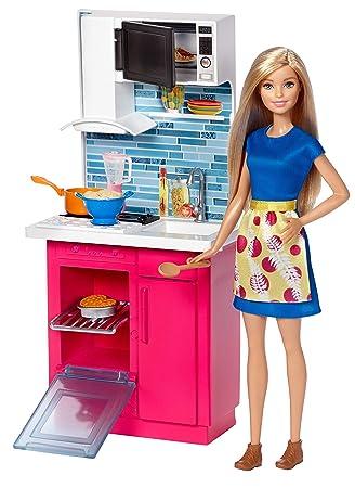 Amazon Es Barbie Muebles De La Casa Muneca Y Cocina Accesorios