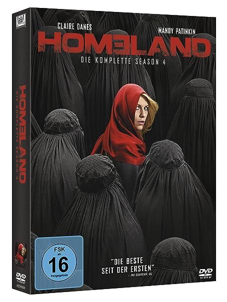 Homeland Die Komplette Season 4 4 Dvds Amazonde Claire Danes