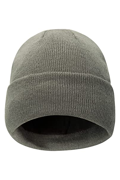 f117b965a86 Amazon.com  Mountain Warehouse Thinsulate Womens Beanie - Knitted Winter Hat   Sports   Outdoors