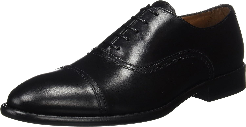TALLA 45 EU. Lottusse L6553, Zapatos de Cordones Oxford para Hombre