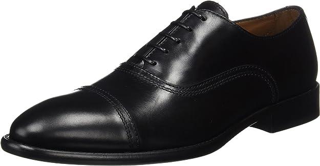 TALLA 45 EU. Lottusse L6553, Zapatos de Cordones Oxford Hombre
