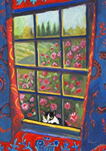 Toland Home Garden 1012491 Peek-A-Boo Cat 28 x 40 Inch Decorative, House Flag (28