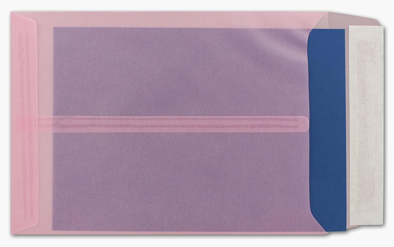 Transparente Umschläge DIN C5   200 Stück Stück Stück   Pastell-Orange-transparent mit seitlicher Verschlusslasche   Haftklebung   162 x 229 mm   Moderne Umschläge für Einladungen, Promotions, Giveaways B076CQJTCD | Flagship-Store  9c6444
