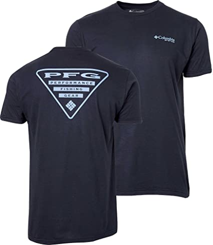 Columbia New PFG Fishing Gear Triangle Short Sleeve T-Shirt Men/'s Large Gray
