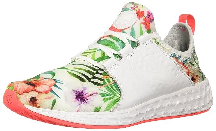 New Balance Fresh Foam Cruz Sport Pack Reflective Sneakers Laufschuhe Damen Bunt Lebendige Koralle (Vivid Coral)