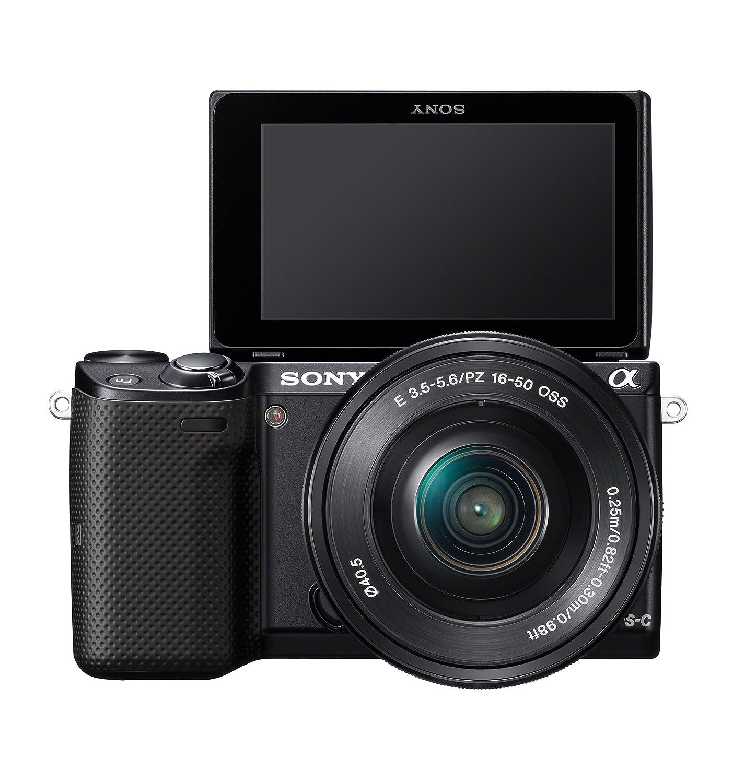 sony 850 100 camera. amazon.com : sony nex-5tl mirrorless digital camera with 16-50mm power zoom lens compact system cameras \u0026 photo 850 100 e