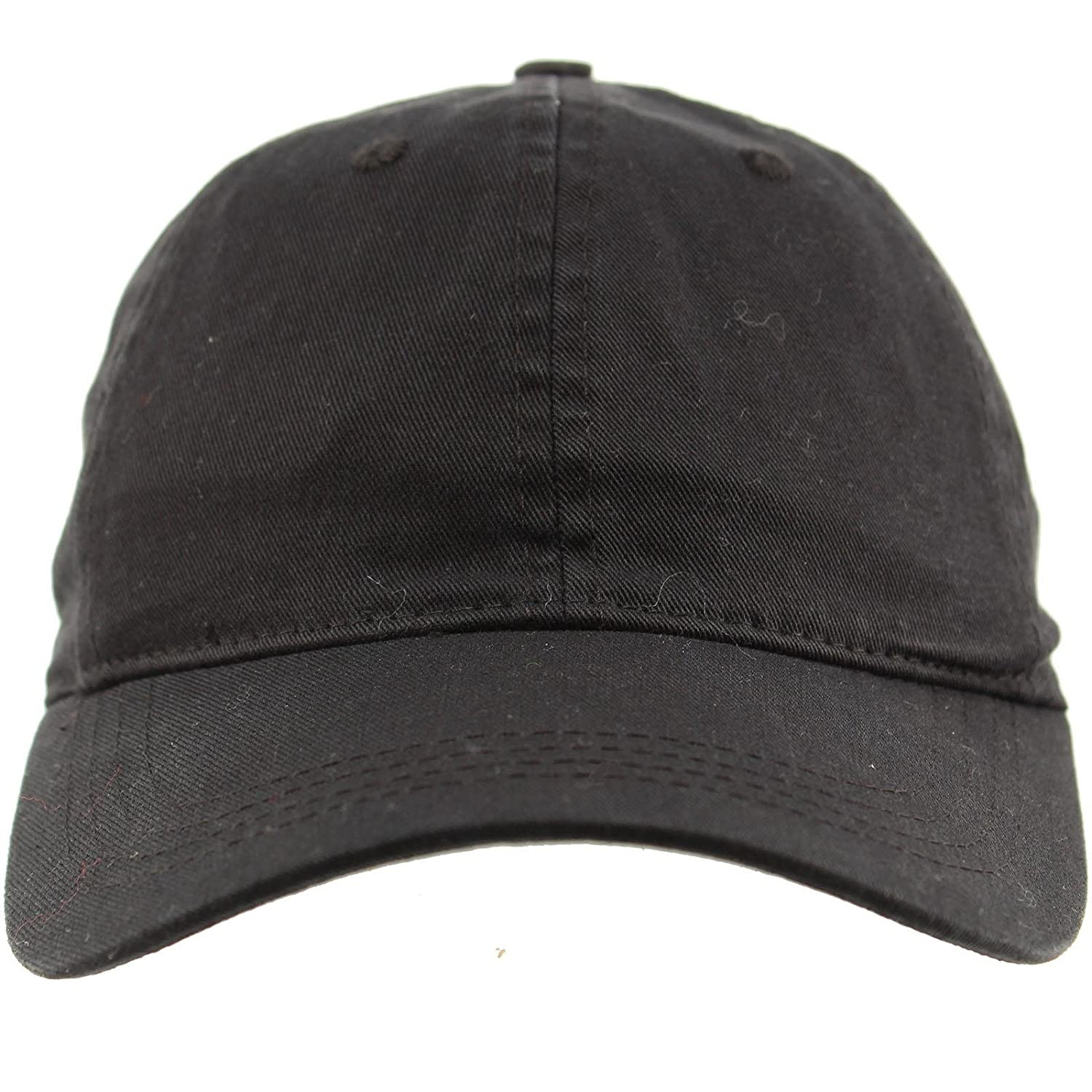 Everyday Unisex Cotton Dad Hat Plain Blank Baseball Adjustable Ball Cap  Black at Amazon Men s Clothing store  7a854287ab2d
