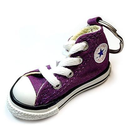 b0d89e43e384 Converse Key Chain All Star Chuck Taylor Sneaker Keychain Authentic  (Purple)  Amazon.co.uk  Kitchen   Home