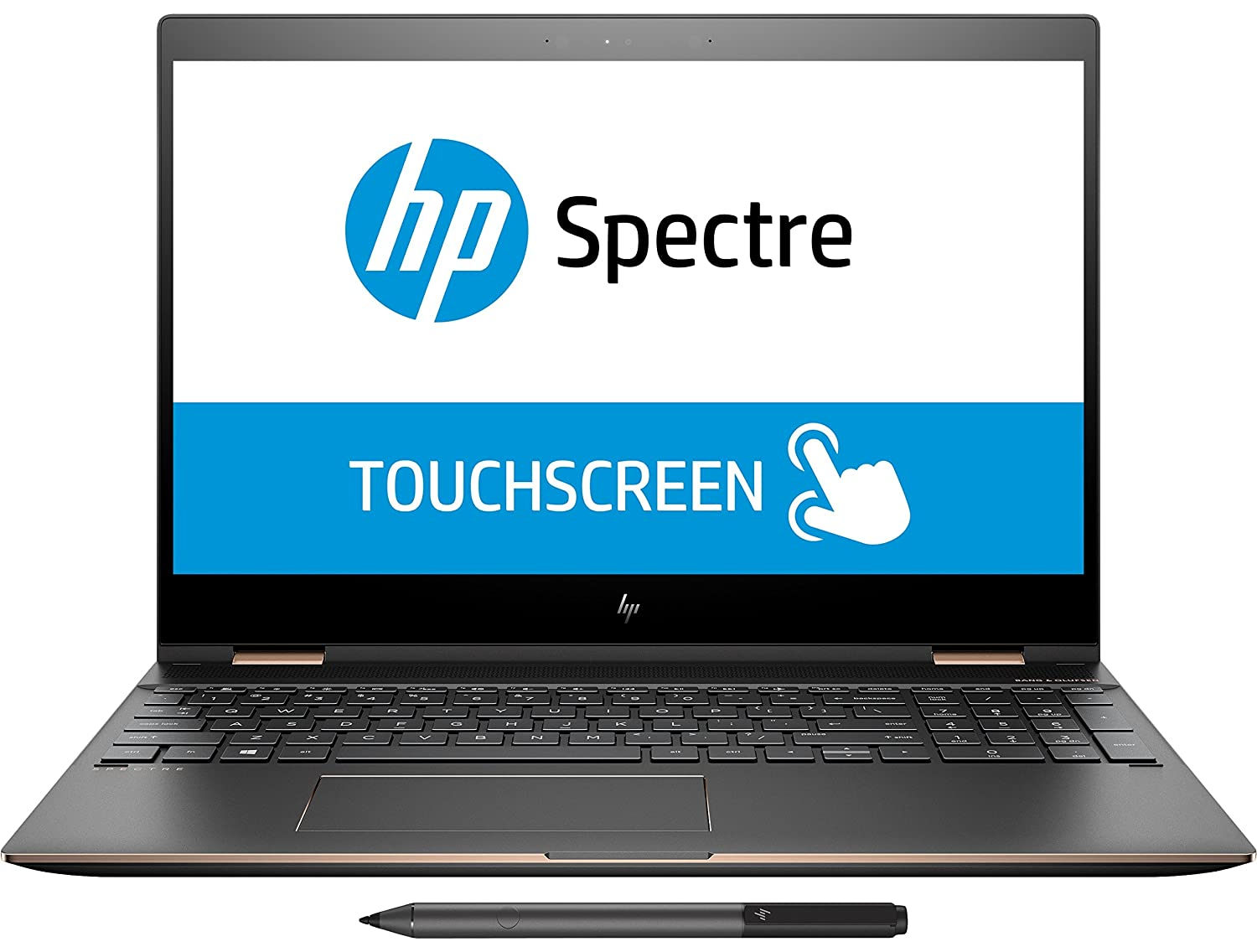 Buy Hp Spectre X360 15 6 Inch 4k Ultra Hd Touch Screen Intel I7 8th Gen Cpu 16gb Memory 512gb Ssd Laptop Online At Low Prices In India Amazon In