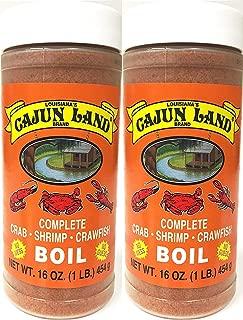 product image for Cajun Land Complete Crab Shrimp Crawfish Boil 1 Pound (2 Pack)