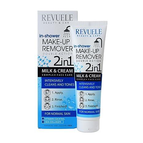 Revuele - Quitamanchas 2 en 1 para ducha y crema para piel normal, 100 ml