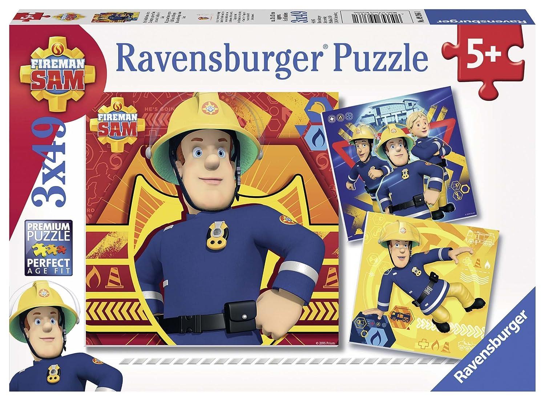 achat Ravensburger - 09386 - Puzzle - en Danger, Appelez Sam  - 3 x 49 pièces pas cher prix