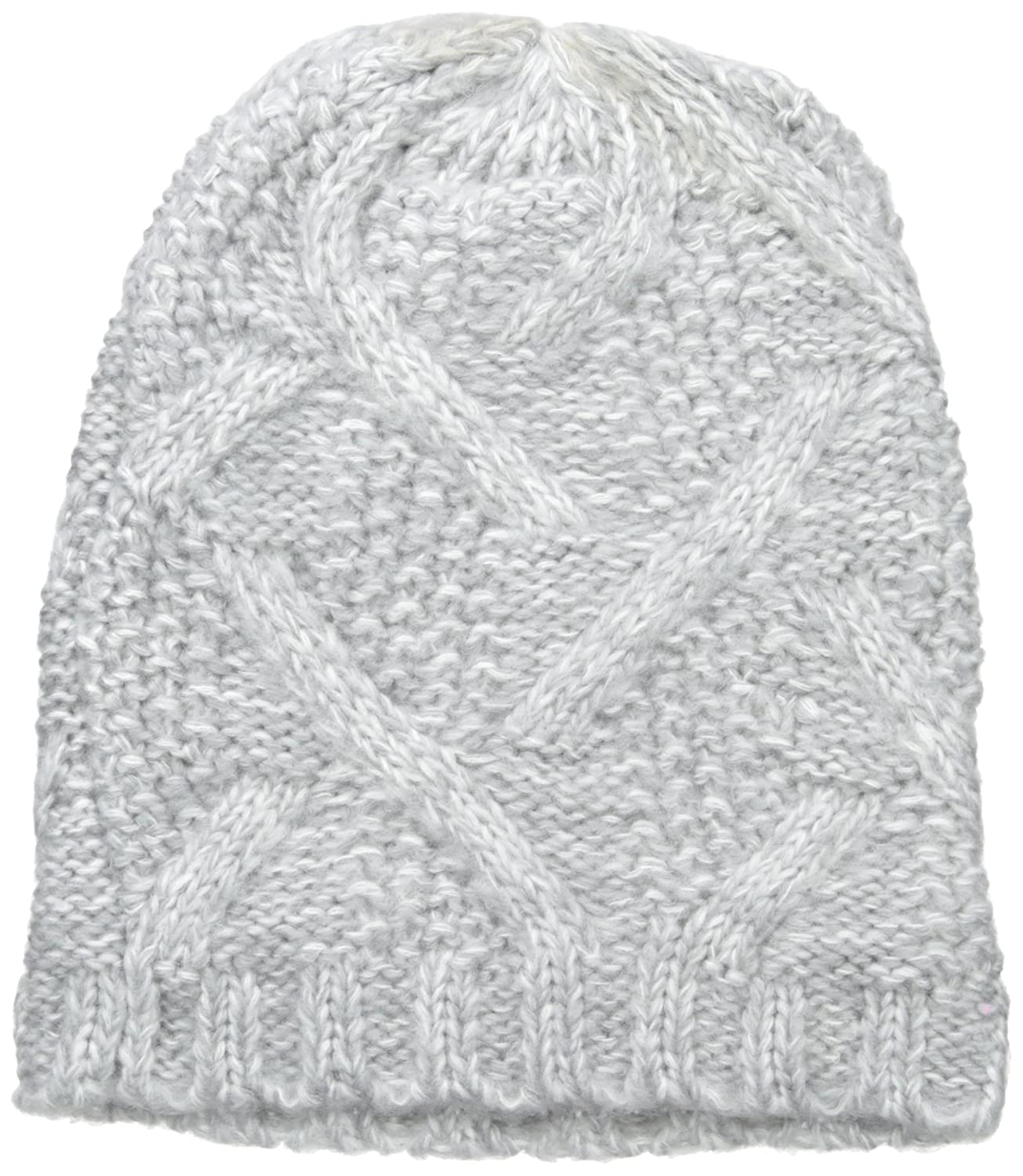 Nine West Women s Crazy Cable Marled Slouchy Beanie b54bf3e4a7
