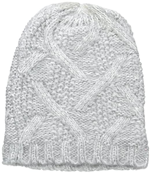 ab1ff694b57 Nine West Women s Crazy Cable Marled Slouchy Beanie
