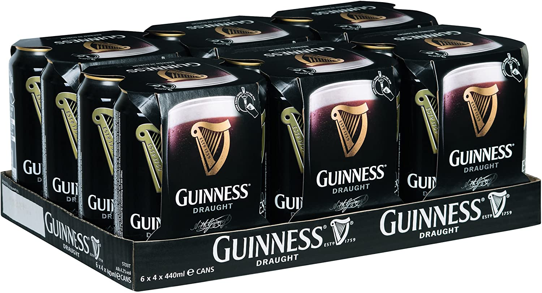 Guinness Draft Can latas de 24x440 ml 4.2% vol.alc.