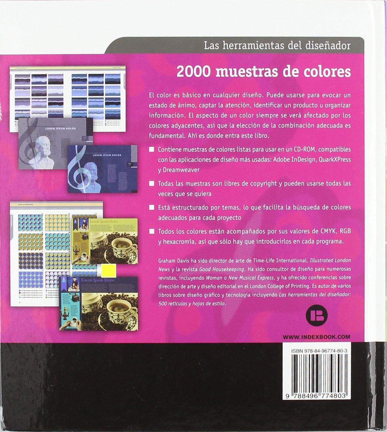 2000 muestras de colores: Amazon.es: Graham Davis: Libros