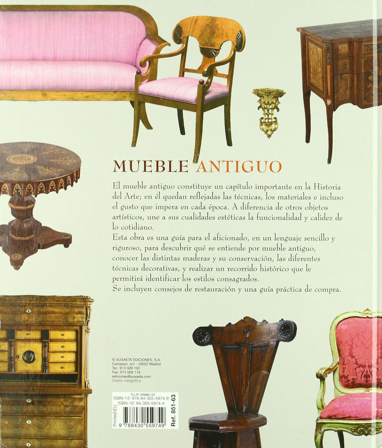 Atlas Ilustrado Del Mueble Antiguo: Amazon.es: Equipo ...