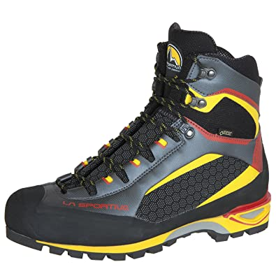 La Sportiva TRANGO TOWER GTX - Walking boots - black/yellow zRXQ7f61