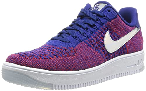 5296ff87b8503 Nike Men s Af1 Ultra Flyknit Low PRM Basketball Shoes  Amazon.co.uk ...