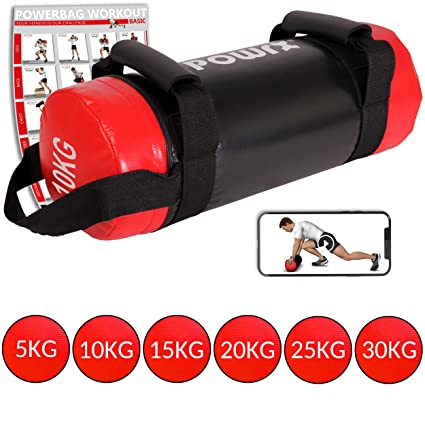 POWRX Sandbag 5-30 kg - Ideal para Entrenamiento Funcional - Power ...