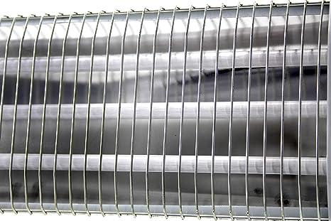 Bastilipo QH-1200 Estufa de infrarrojos-QH-1200, Blanco, 54 X 13 X 26 Cm: Amazon.es: Hogar