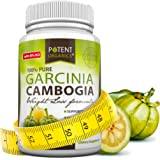 Pure Garcinia Cambogia Extract - 95% HCA Capsules - Best Weight Loss Supplement - Non GMO - Gluten and Gelatin Free - Natural Appetite Suppressant - 100% Money Back Guarantee - Order Risk Free!