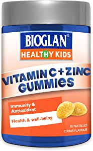Bioglan BG Kids Vitamin C + ZINC 70s, 0.2 Kilograms