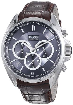 Hugo Boss Anthracite Dial SS chronograph Quartz Mens Watch 1513035