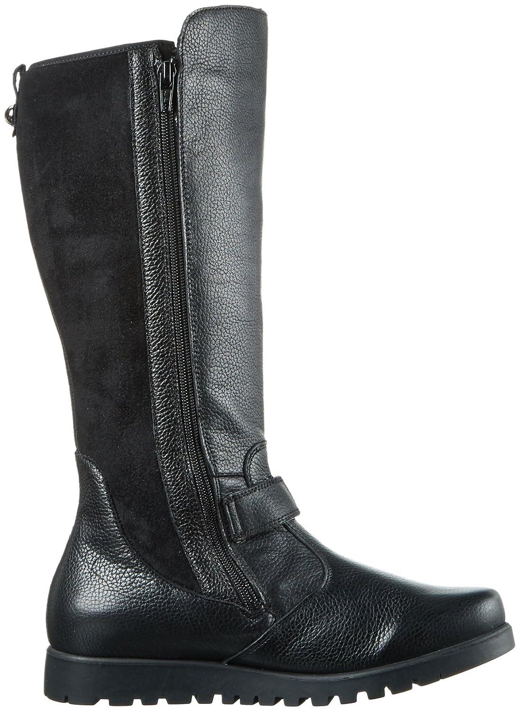 Waldläufer Hegli, Women's Long Boots, Black (Longbeach Velourstretch Schwarz),  5 UK (38 EU): Amazon.co.uk: Shoes & Bags