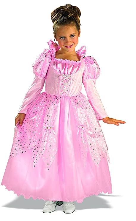 Child's Fairy Tale Pink Princess Costume, Large