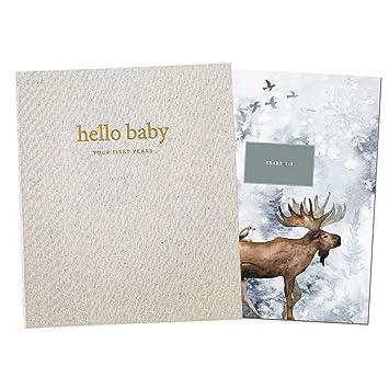 Unisex Baby Memory Book Photo Keepsake to Record Milestones /& Firsts